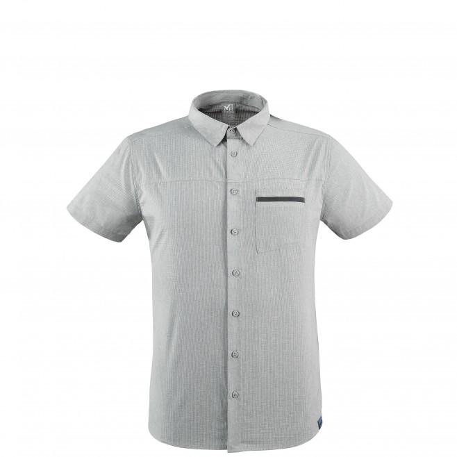 Men's shirt - grey ARPI SHIRT SS M Millet