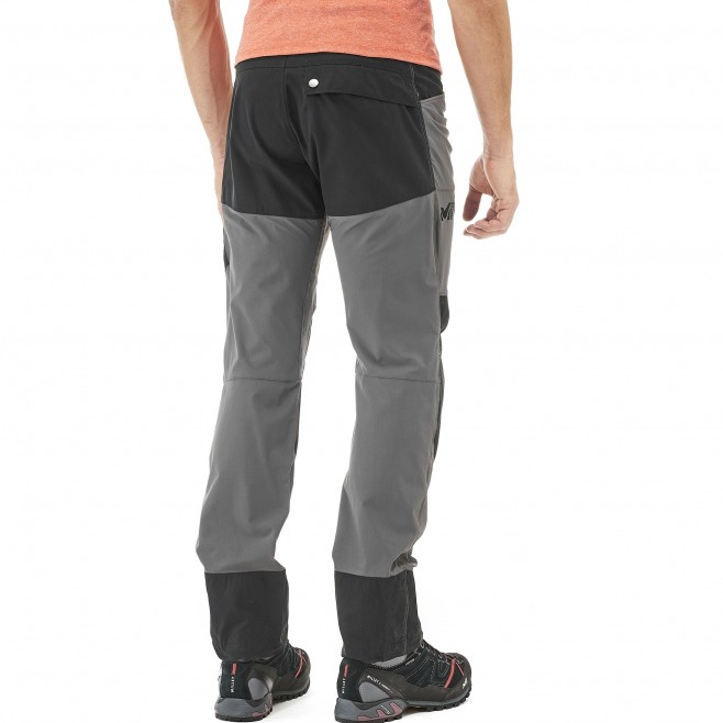 Men's stretch pant - hiking - grey VOSTOK STRETCH PANT Millet 3
