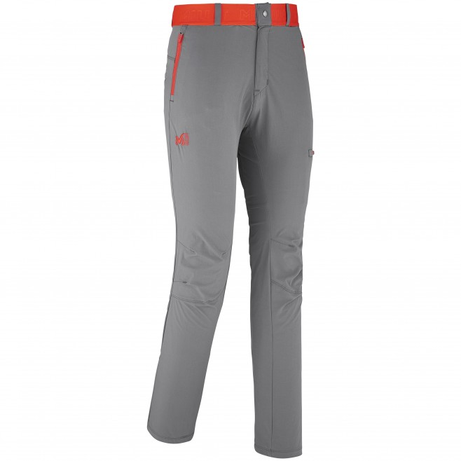Trekking - Men's pant - Grey HAUROKO STRETCH PANT Millet