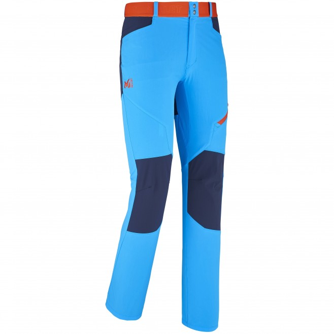 Trekking - Men's pant - Blue ONEGA STRETCH PANT Millet