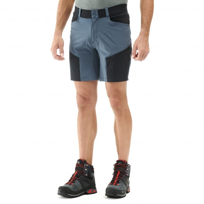 Men's short - hiking - navy-blue ONEGA STRETCH SHORT Millet 2