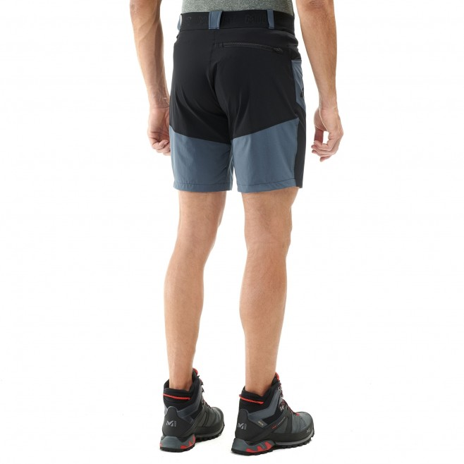 Men's short - hiking - navy-blue ONEGA STRETCH SHORT Millet 3