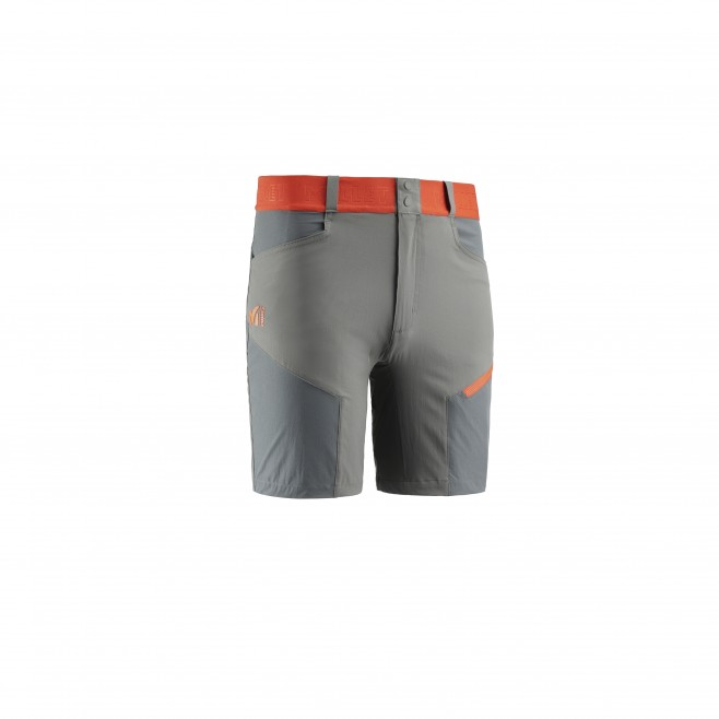 Men's short - grey ONEGA STRETCH SHORT M Millet