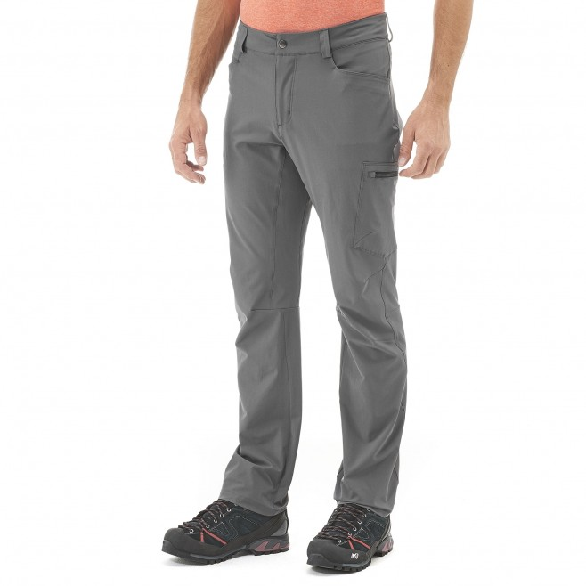 Men's pant - grey WANAKA STRETCH PANT M Millet 2