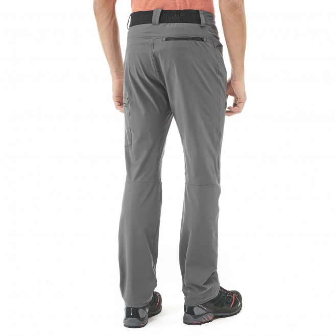 Men's pant - grey WANAKA STRETCH PANT M Millet 3