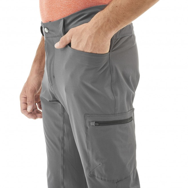 Men's pant - grey WANAKA STRETCH PANT M Millet 5