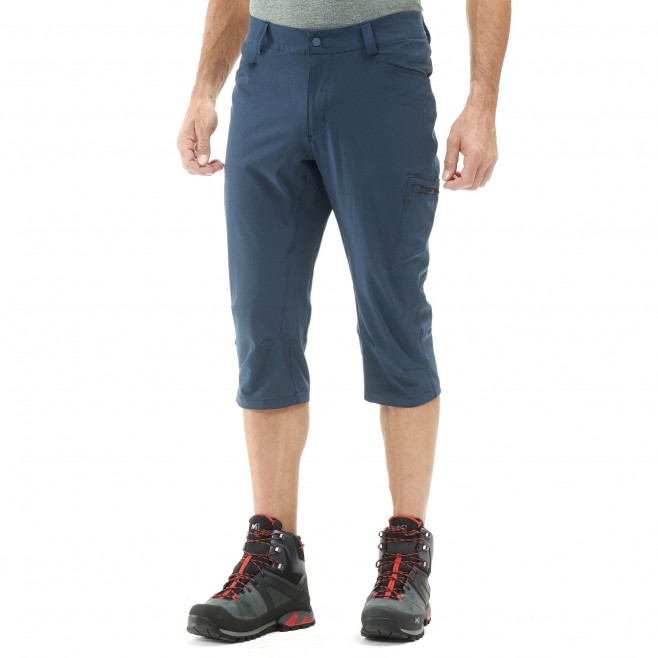 Men's pant - hiking - navy-blue WANAKA STRETCH 3/4 PANT Millet 2