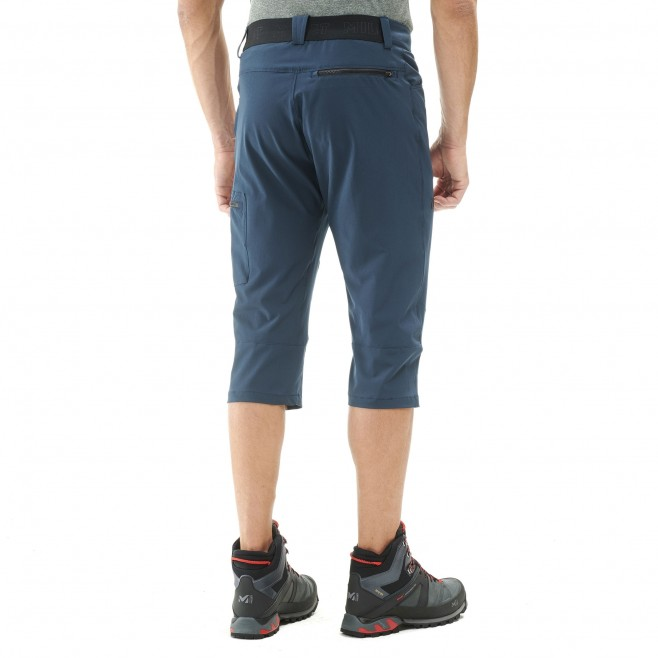 Men's pant - hiking - navy-blue WANAKA STRETCH 3/4 PANT Millet 3