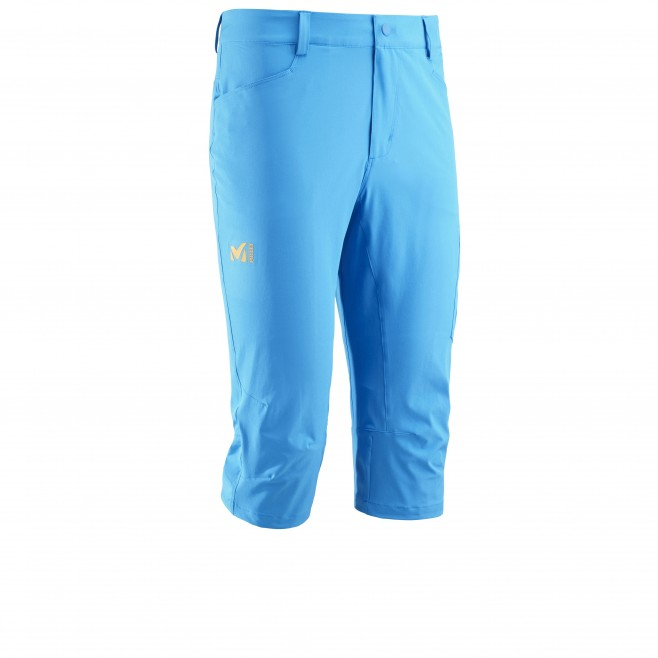 Men's pant - hiking - blue WANAKA STRETCH 3/4 PANT Millet