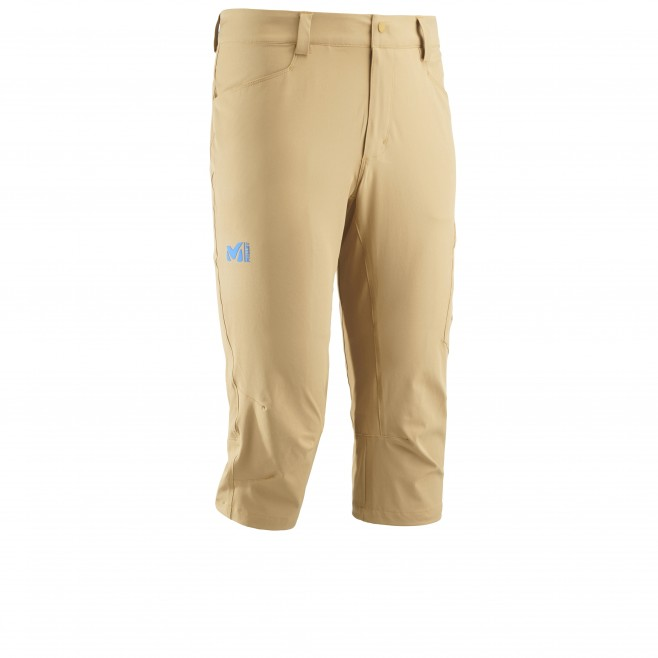 Men's pant - hiking - yellow WANAKA STRETCH 3/4 PANT Millet