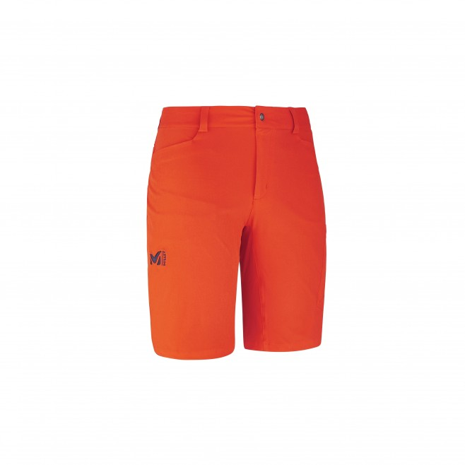 Trekking - Men's short - Orange WANAKA STRETCH SHORT Millet
