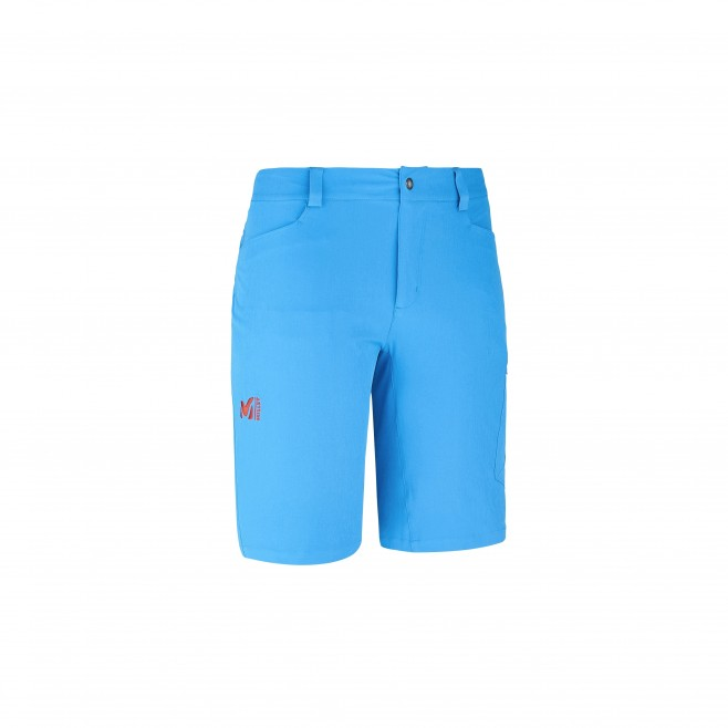 Trekking - Men's short - Blue WANAKA STRETCH SHORT Millet