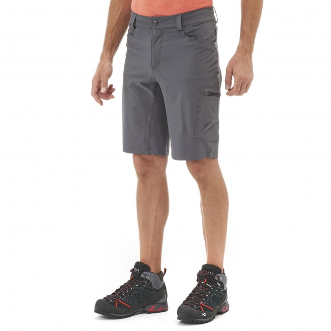 Men's short - hiking - orange WANAKA STRETCH SHORT Millet 2