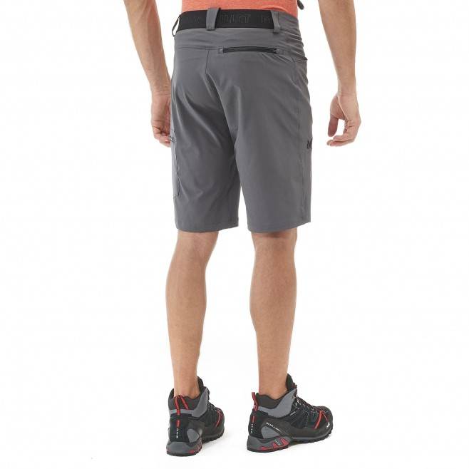 Men's short - hiking - orange WANAKA STRETCH SHORT Millet 3