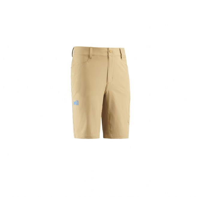 Men's short - hiking - yellow WANAKA STRETCH SHORT Millet