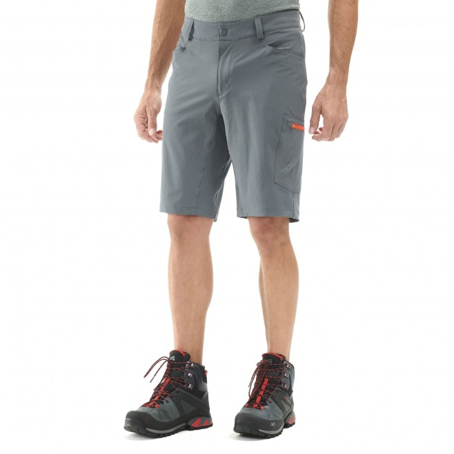 Men's short - hiking - khaki WANAKA STRETCH SHORT Millet 2
