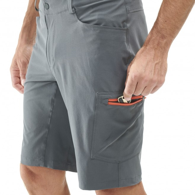 Men's short - hiking - khaki WANAKA STRETCH SHORT Millet 5