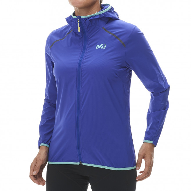 Trail running - Women's jacket - Purple LD LTK AIRSTRETCH HOODIE Millet 2