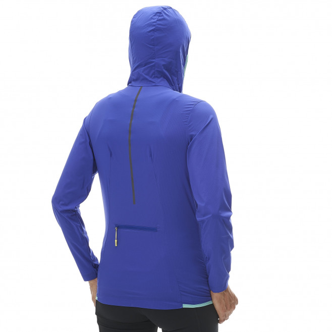 Trail running - Women's jacket - Purple LD LTK AIRSTRETCH HOODIE Millet 3