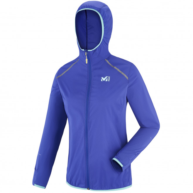 Trail running - Women's jacket - Purple LD LTK AIRSTRETCH HOODIE Millet