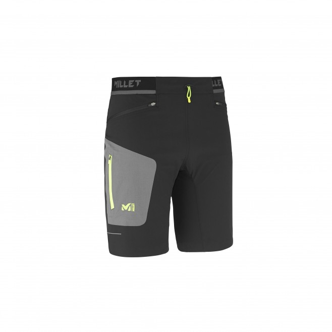 Trail running - Men's short - Black LTK SPEED LONG SHORT Millet