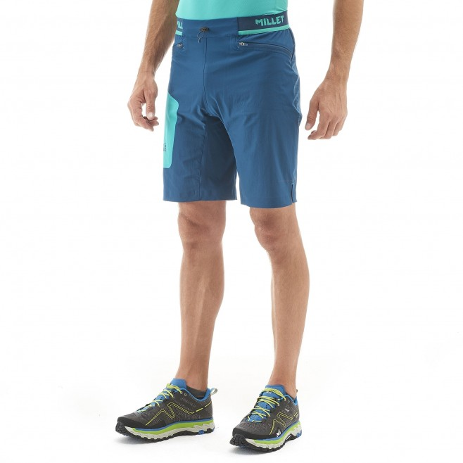 Men's bermuda - trail running - black LTK SPEED LONG SHORT Millet 2