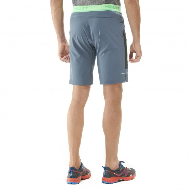 Men's bermuda - trail running - navy-blue LTK SPEED LONG SHORT Millet 4