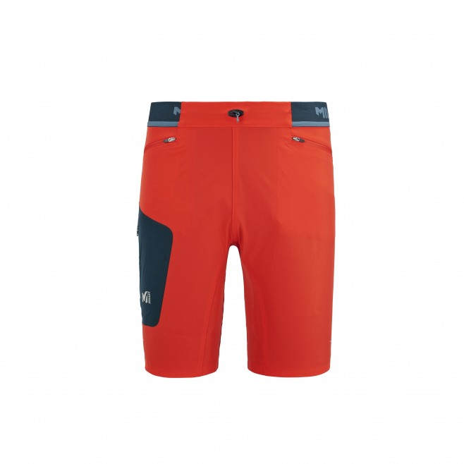 Men's short - red LTK SPEED LONG SHORT M Millet