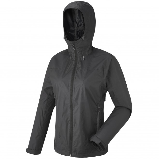 Women's waterproof jacket - hiking - black LD FITZ ROY 2.5L II JKT Millet