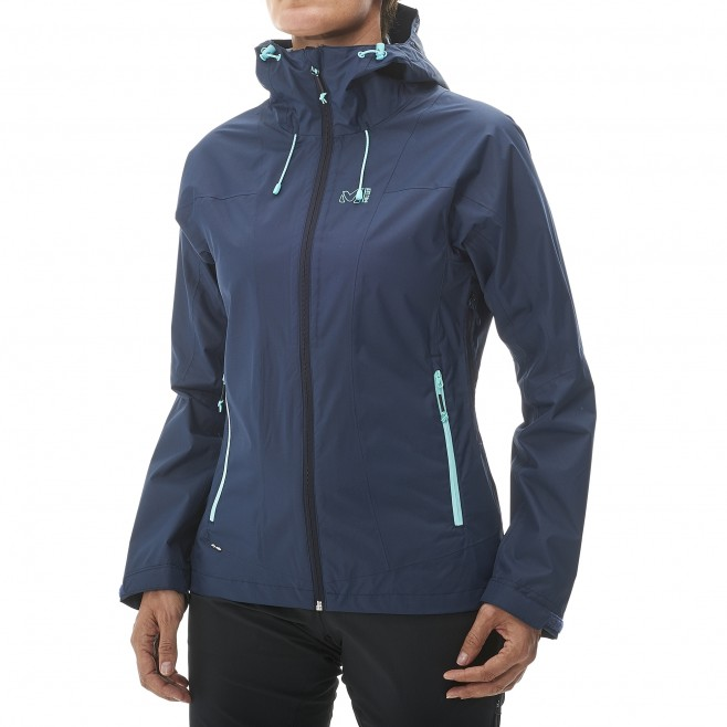 Women's waterproof jacket - hiking - black LD FITZ ROY 2.5L II JKT Millet 5