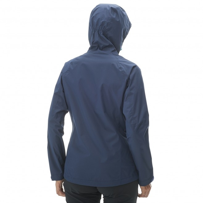 Women's waterproof jacket - hiking - navy-blue LD FITZ ROY 2.5L II JKT Millet 2