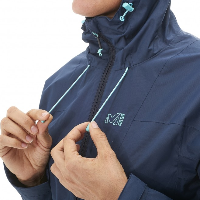 Women's waterproof jacket - hiking - black LD FITZ ROY 2.5L II JKT Millet 2