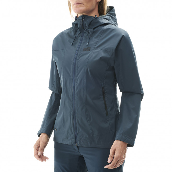 Women's waterproof jacket - black LD FITZ ROY 2.5L II JKT Millet 2