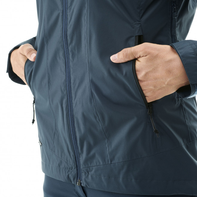 Women's waterproof jacket - black LD FITZ ROY 2.5L II JKT Millet 4