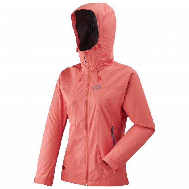 Women's waterproof jacket - hiking - pink LD FITZ ROY 2.5L II JKT Millet