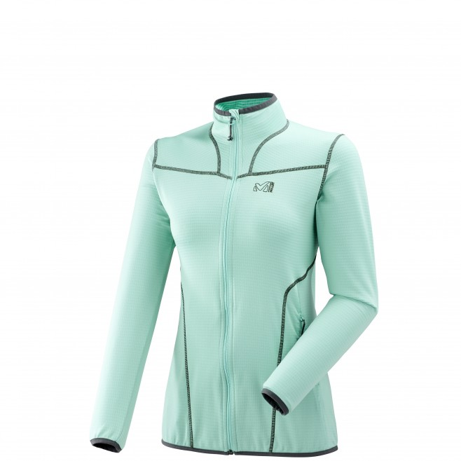 Women's lightweight fleecejacket - hiking - turquoise LD BACALAR JKT Millet