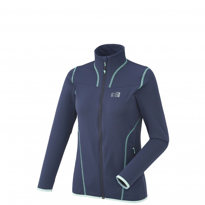 ... Trekking - Women s fleece jacket - Navy-Blue LD BACALAR JKT Millet ... f361181a36
