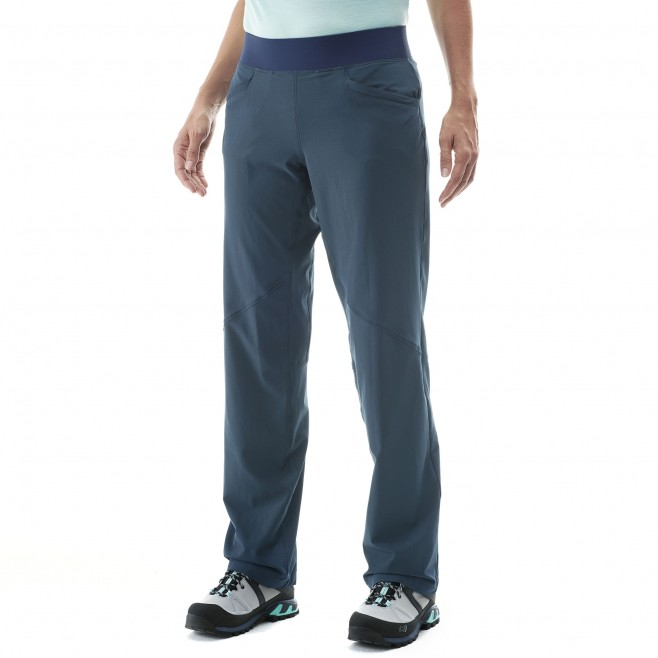 Women's pant - hiking - navy-blue LD WANAKA STRETCH PANT Millet 5