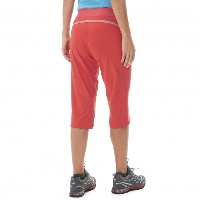 Women's pant - hiking - pink LD WANAKA STRETCH 3/4 PANT Millet 3