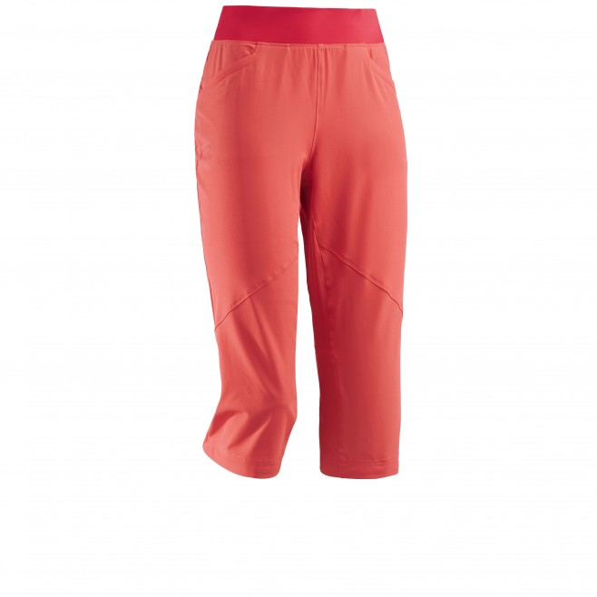 Women's pant - hiking - pink LD WANAKA STRETCH 3/4 PANT Millet