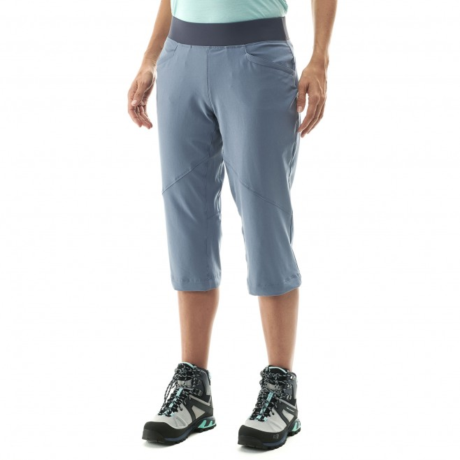 Women's pant - hiking - blue LD WANAKA STRETCH 3/4 PANT Millet 4