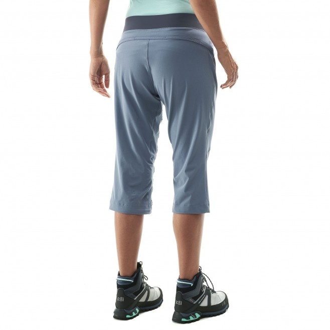 Women's pant - hiking - blue LD WANAKA STRETCH 3/4 PANT Millet 5