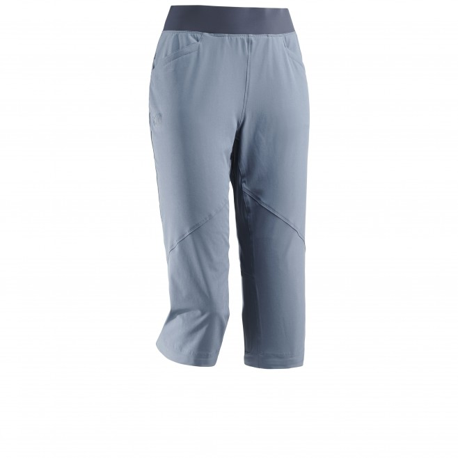 Women's pant - hiking - blue LD WANAKA STRETCH 3/4 PANT Millet