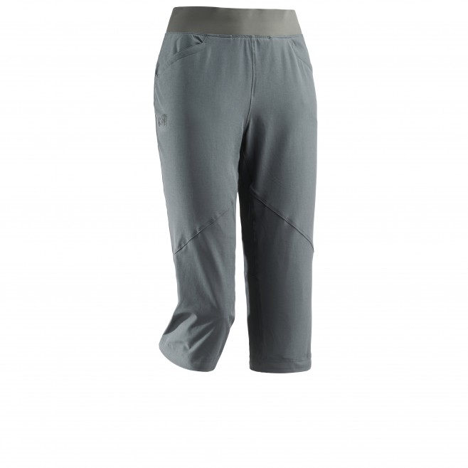 Women's pant - hiking - khaki LD WANAKA STRETCH 3/4 PANT Millet