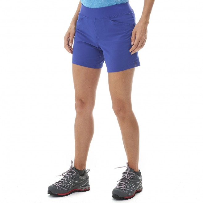Women's short - hiking - pink LD WANAKA STRETCH SHORT Millet 2
