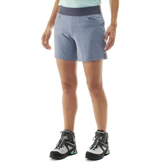 Women's short - hiking - blue LD WANAKA STRETCH SHORT Millet 2