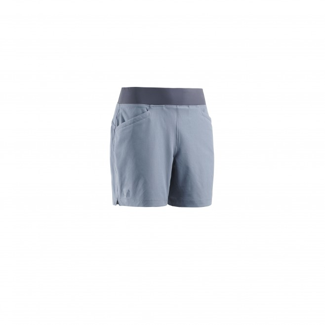 Women's short - hiking - blue LD WANAKA STRETCH SHORT Millet