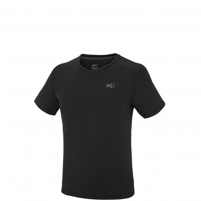 Men's short sleeves t-shirt - mountaineering - black ROC BASE TS SS Millet