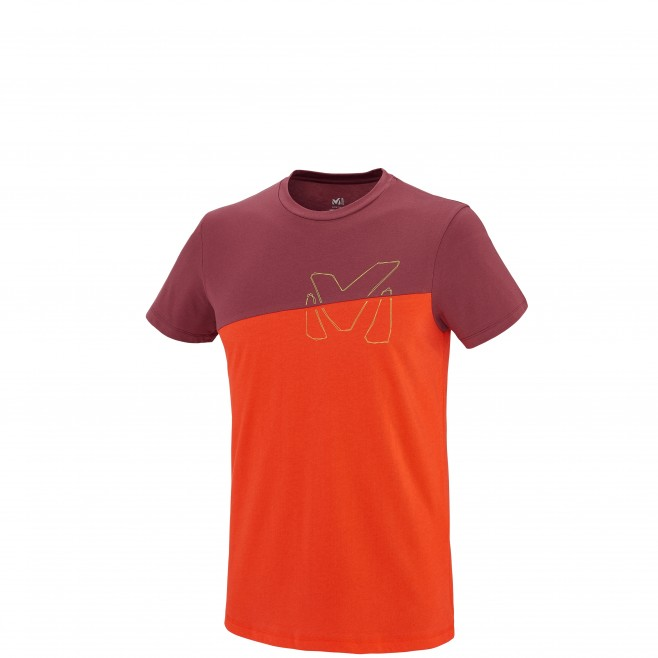 Climbing - Men's t-shirt - Orange GOLDEN TS SS Millet