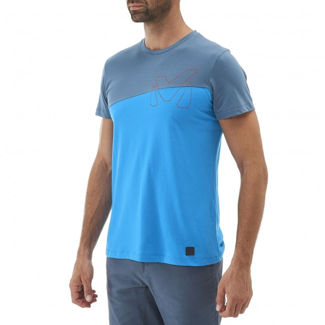 Climbing - Men's t-shirt - Blue GOLDEN TS SS Millet 2